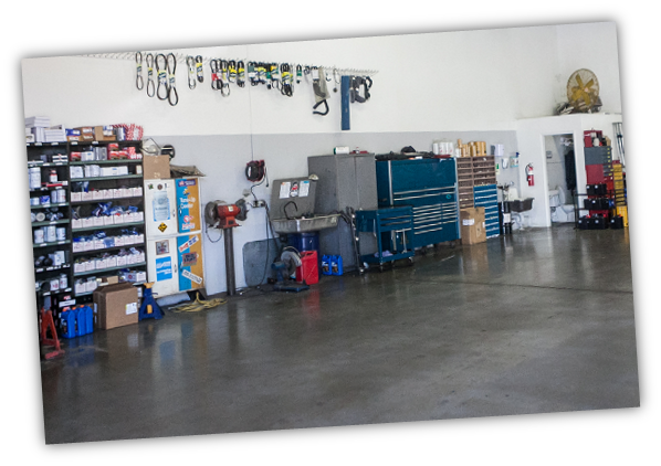 Mechanic Shop onsite